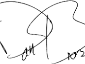 Dan Brown's signature