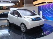 English: Pininfarina-Bolloré B0 electric car at the 2008 Paris Motor Show
