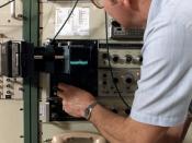 NOAA engineer at work