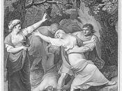 Titus Andronicus: Act II, Scene 3: Tamora's cruelty to Lavinia