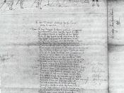 English: Henry Peacham's illustration of lines from Titus Andronicus