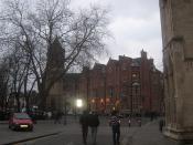 Dean Court Hotel (C), Saint Wilfrids Catholic Church (L) and York Minster (R)