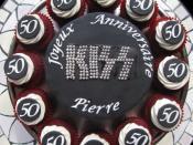 KISS Band Logo Cake!