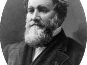 Cyrus McCormick, American inventor of the mechanical reaper.