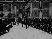 Delegates Leaving The Palace after Sigining the Treaty of Versailles