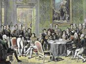 The Congress of Vienna, 1814