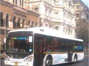 English: Best bus CNG hybrid mumbai bombay