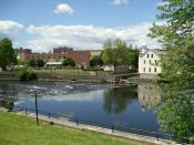 Slater Mill Historic Site - Pawtucket, Rhode Island