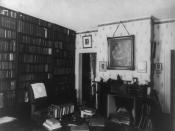Ralph Waldo Emerson's study