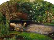 Elizabeth Siddal was the model for Sir John Everett Millais's Ophelia.