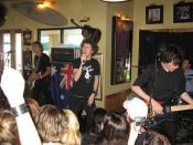 English: Australian rock band After the Fall playing at Schoolies 2005 in Surfers Paradise, Queensland.