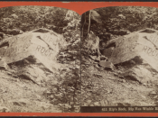 Rip's Rock, Rip Van Winkle House, by J. Loeffler