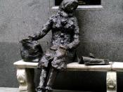 English: Statue of Eleanor Rigby in Stanley Street, Liverpool, UK