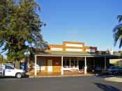St Vincent De Paul Society Opportunity shop in Wagga Wagga, New South Wales.