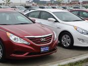Hyundai Sonata GLS and Hybrid (US)