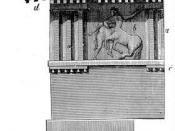 The Doric order of the Parthenon