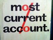 Abbey National - The Most Current Account