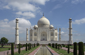 Taj Mahal, Agra, India. Français : Taj Mahal, Agra, Inde. हिन्दी: ताज महल, आगरा, भारत. پښتو: تاج محل, اګره, هند.
