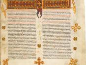 British Library Add. MS 59874 Ethiopian Bible - Matthew's Gospel (Ge'ez script)