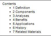 English: Integrated Business Planning Table of Contents