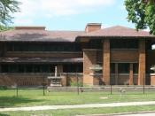Frank Lloyd Wright's Darwin D. Martin House, in Buffalo, NY.