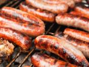 In the United States, Italian sausage is a style of pork sausage noted for its seasoning of fennel and/or anise, containing at least 85% meat and no more than 35% fat. Made in sweet and hot styles, this kind of sausage is generally not cured. A typical me