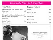Justice of the Peace Magazine