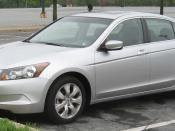 2008 Honda Accord photographed in College Park, Maryland, USA. Category:Honda Accord (2007, North America)