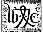 The printer's device of William Caxton, 1478.