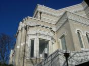 Langston Hughes Performing Arts Center, formerly the Jewish Synagogue of Chevra Bikur Cholim (1912), designed by B. Marcus Priteca