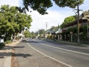 Kangaroo Valley, main street