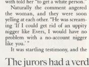 English: Mark Reiley 1994 star witness testifies against Byron DeLa Beckwith for murder of civil rights leader; Medgar Evers