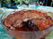 Moussaka is an eggplant based dish
