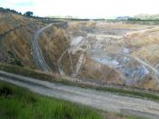 Martha Mine, a gold mine in Waihi, New Zealand.