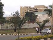 English: Parliament building in Kigali, Rwanda.