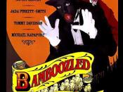 Promotional poster for Spike Lee's movie Bamboozled (2000)