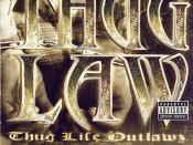 Thug Law: Thug Life Outlawz Chapter 1