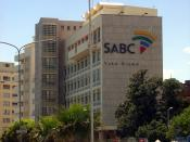 English: The South African Broadcasting Corporation building in Sea Point, Cape Town.