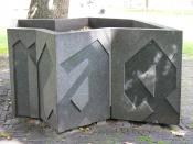 sculpture (1990) by Paul Virilio in Groningen/The Netherlands