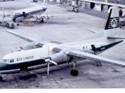 English: Aer Lingus Fokker F27 Friendship at Manchester