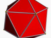 Image d'un icosaèdre, un des solides de Platon