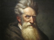 English: I took photo at National Portrait Gallery of John Brown, with Canon camera. Public domain