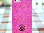 Tory Burch case for iPhone 5 Wray Mix Royal Multi, Priced: $29.99