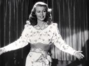 English: Rita Hayworth performing