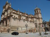 English: Collegiate Church of St. Patrick, Lorca (Murcia) Español: Colegiata de San Patricio, Lorca (Murcia)