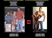 Vegetarian is the Most Massive Bodybuilder on Earth on No Estrogen Soy Protein - Overlay