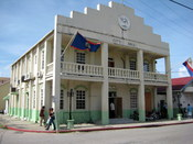English: Belize City Hall in Belize City, Belize.