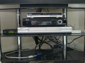 virginmedia cable modem dvd fon sat