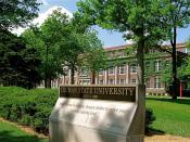 English: Truman State University Entrance Enlarged