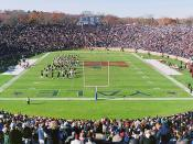 Yale Bowl during